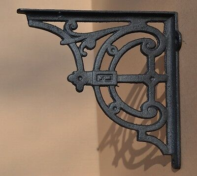 Industrial Style Cast Iron Gallows Brackets Shelf Bracket Vintage Design - Lg114