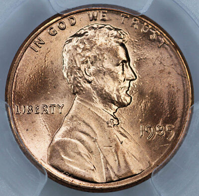 1985 PCGS MS66RD Lincoln Cent