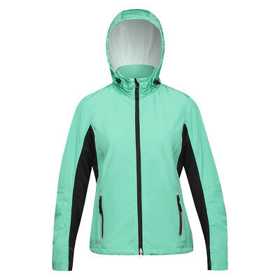 Nivo Women's Waterproof Jacket Aqua Green XS