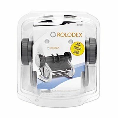 Rolodex Open Rotary Business Card File with 200 2-5/8 by 4 inch Card Sleeve