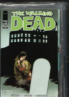 THE WALKING DEAD #109,110,112 bis 149,151,152 - US-Hefte,First Printing,Sammlung