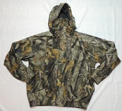 2a6483d2e676e Remington Camo Hunting Jacket Hooded Real Tree Camouflage Coat Mens Size  Large
