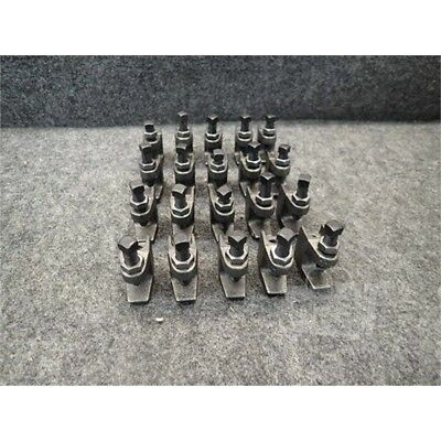 "Lot of 20 1/2"" Beam Clamps, Iron"