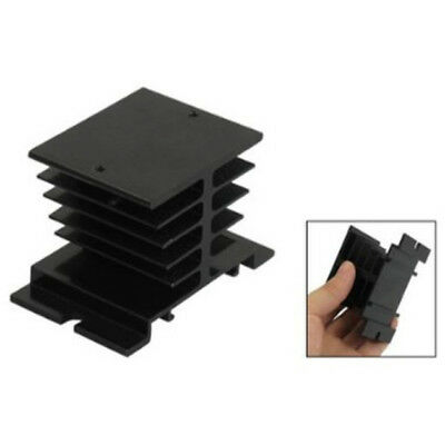 Aluminum Alloy Heat Sink 80 x 50 x 50mm For Solid State Relay Portector