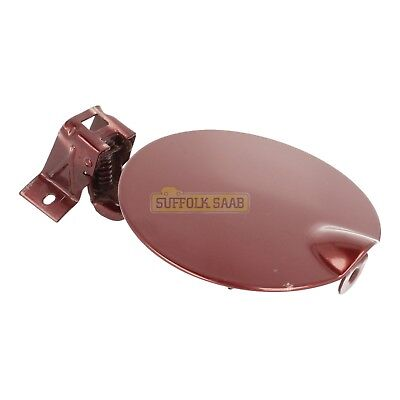 Saab 93 9-3 9400 98-03My Fuel Filler Flap 284 Merlot Red 5185731 Genuine Rare