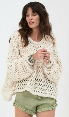 NWT Spell and the Gypsy Collective Designs EagleHawk Slouchy Knit Sweater S/M