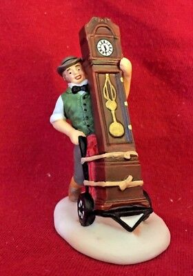 On Time Delivery Dept 56 Dickens Village Accessory 58598 Christmas city snow A