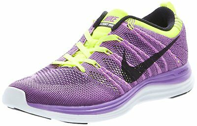 premium selection 9e04f 45ab2 NIKE Men s Flyknit Lunar One+ Running Shoes - Size 8 (554887-505) PURPLE