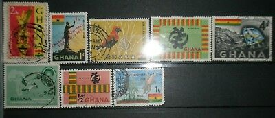 Small lot of Ghana stamps