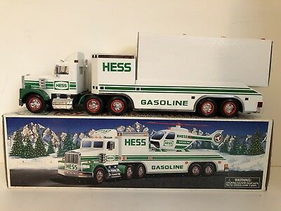 1995 Hess Toy Truck and Helicopter  ~ New in Box!