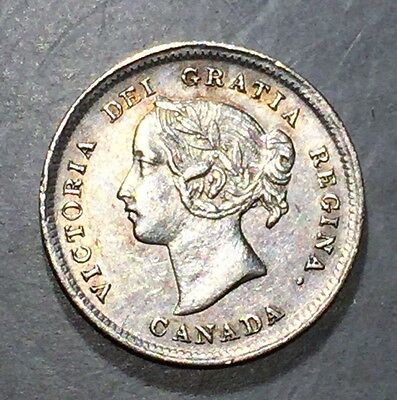 CANADA 1898 5 Cents  K-2    **FREE SHIPPING**