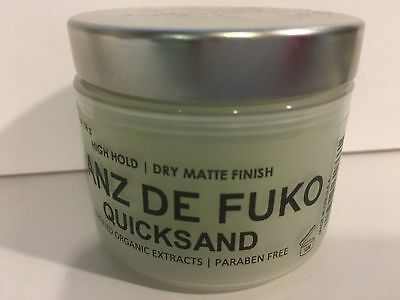 Hanz De Fuko Quicksand 2 oz. New