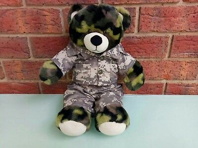 Build A Bear Workshop Teddy Bear Plush Toy With Outfit
