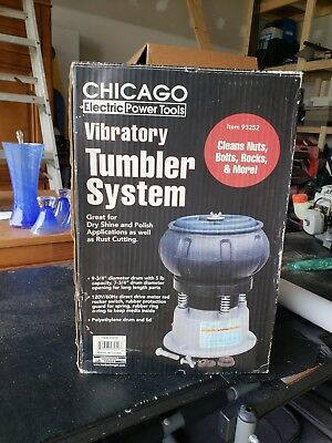 Harbor Freight Chicago Electric Rock Tumbler Replacement