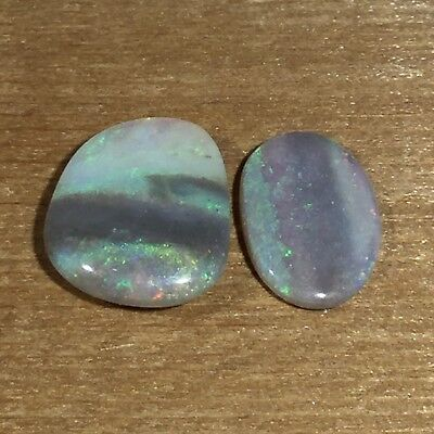 Australian White Opal. Solid natural POLISHED GEMSTONE by Smart Opals