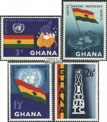 Ghana 69-72 (complete.issue.) unmounted mint / never hinged 1959 UN
