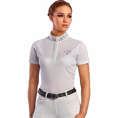 Just Togs Oxford Womens Shirt Competition - White All Sizes
