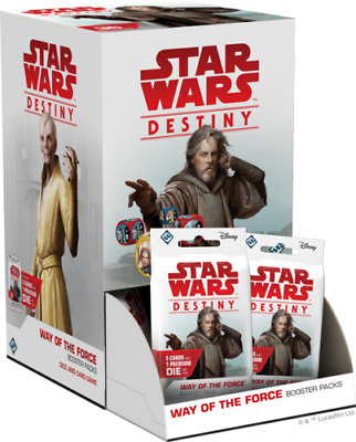 Star Wars Destiny Way of the Force Booster Box Sealed 36 ct. Preorder SHIPS 7/5
