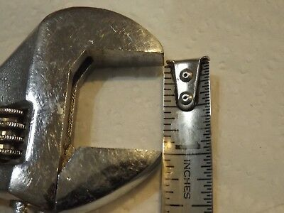 CRESCENT & ADJUSTABLE WRENCH USA, 8 inch long