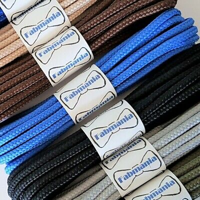 Strong Round Work Hiking Boot Laces in colours -60, 75, 90, 110, 140, 160, 180cm