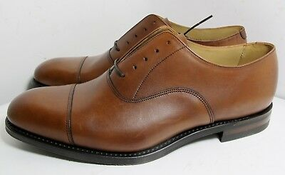 Loake Archway Mahogany Shoe 10.5 G - New Slight Seconds RRP £200 (2667)