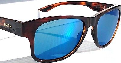 5fba322ff7e NEW  SMITH Optic WAYWARD Havana w ChromaPop POLARIZED Blue lens Sunglass