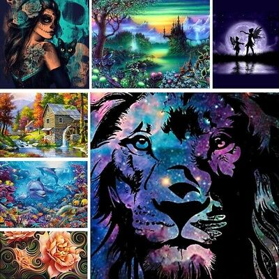 5D DIY Fantacy Diamond Painting Embroidery Cross Craft Stitch Home Decor Art