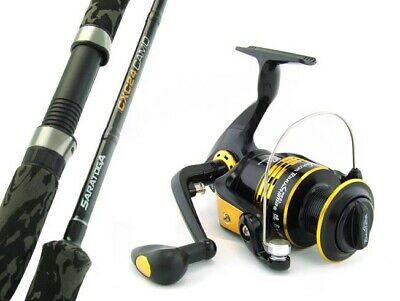 SARATOGA CXC24 7'0 10kg Snapper Fishing Spinning Rod and Reel Combo Boat PRESALE