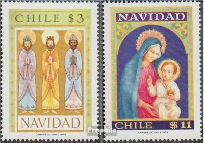 Chile 896-897 (complete.issue.) unmounted mint / never hinged 1978 christmas