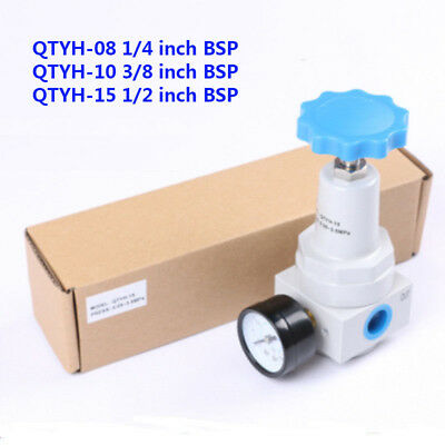 Pneumatic units high pressure air regulator inlet port thread QTYH-15/10/08