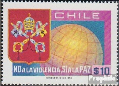 Chile 887 (complete.issue.) unmounted mint / never hinged 1978 Peace