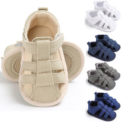 Baby Kids Boys Sandals Summer Child Breathable Antiskid Casual Shoes 0-18 Months