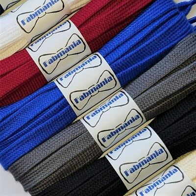 Flat Trainer Shoe Laces - ideal for Adidas Vans Nike Stan Smith - 60 to 140 cm