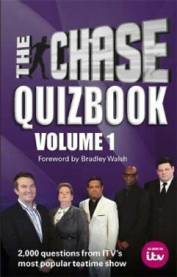 The Chase Quizbook Volume 1 The Chase is on! 9780600635345 (Paperback, 2017)