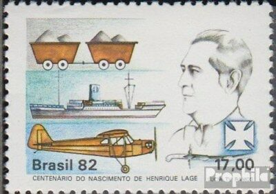 Brazil 1872 (complete.issue.) unmounted mint / never hinged 1982 Henrique Locati