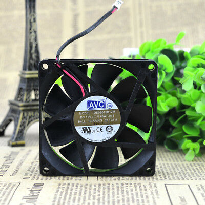 1PC new AVC 8015 0.48A 8CM DS08015B12M