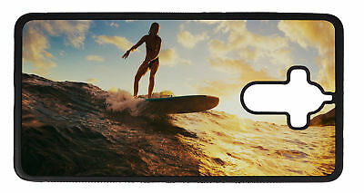 Phone Cover Case suitable for Huawei Mate 9 Fun  Surf wave woman