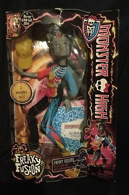 Monster High - FREAKY FUSION - NEIGHTHAN ROT - NRFB