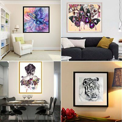 Full Drill DIY 5D Diamond Painting Embroidery Cross Crafts Stitch Kit Home Decty