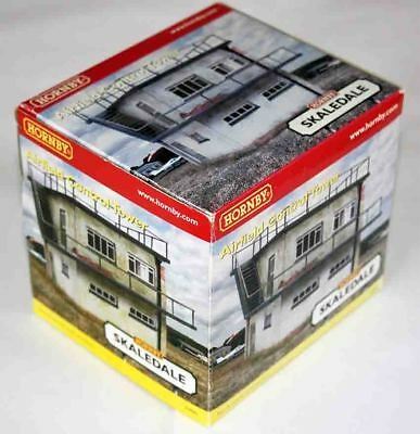 Hornby Skaledale Vintage Airfield Control Tower (R8989, mint condition)