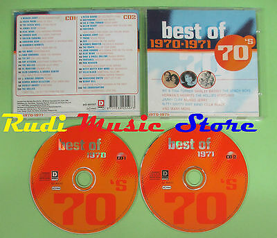 CD BEST OF 70'S 1970 - 1971 compilation 2003 BEACH BOYS TURNER HOLLIES (C17)