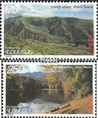 armenia 353-354 (complete.issue.) fine used / cancelled 1999 National