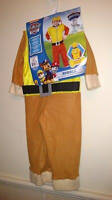 NWT Paw Patrol Rubble costume Infant/toddler
