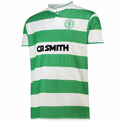 Celtic 1988 Football Home Jersey Retro Shirt Tee Top Mens