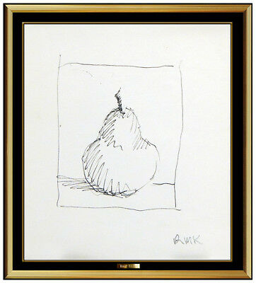 Robert Kulicke Original Ink Drawing Signed Modern Still Life Authentic Artwork