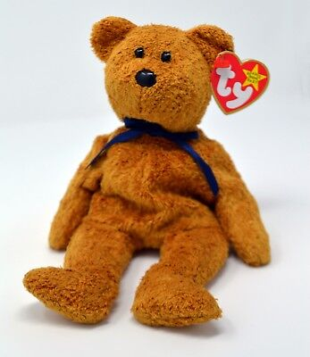 Ty Beanie Babies Fuzz the bear
