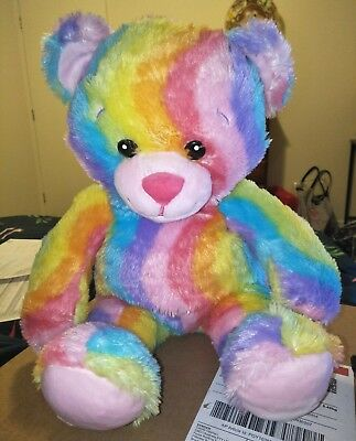 Build a bear rainbow