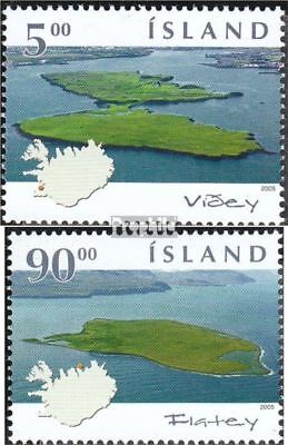 Iceland 1082-1083 (complete.issue.) fine used / cancelled 2005 Islands