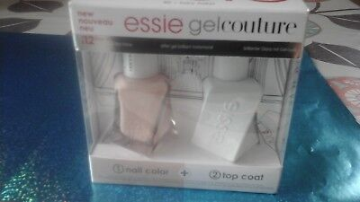 """ Essie Gel  Couture Kit Duo Nail Color+ Top Coat  40 Fairy Tailor"