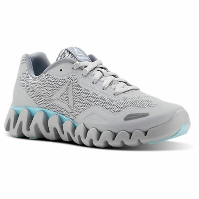 REEBOK Women s Zig Pulse SE Size 9 Light Solid Grey Cool Blue Lagoon W New  NIB e55fb9dee